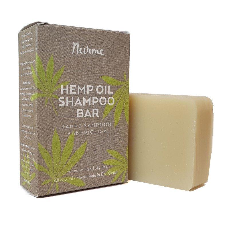 6e73ae510ba Nurme tahke šampoon kanepiõliga 100g. Esileht > Tooted > Nurme tahke  šampoon kanepiõliga 100g